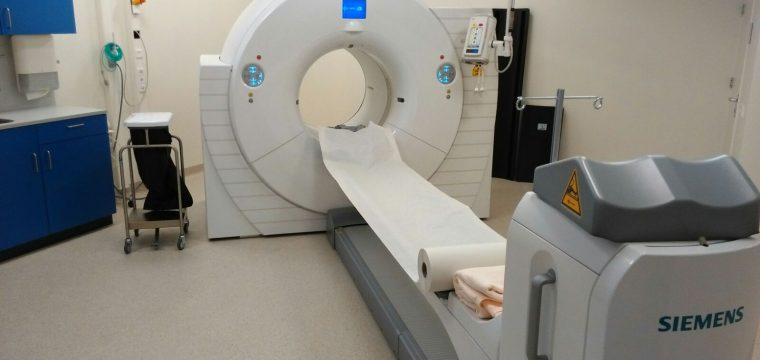 Fertigstellung Raum für PET/CT-Scan Scheper Ziekenhuis in Emmen (Niederlande)